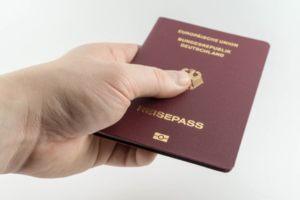 Identifikation mit Ausweis für Kredit